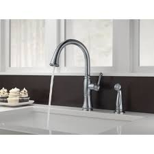 delta faucet 4297 ar dst cassidy arctic stainless one handle with