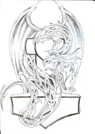 celtic dragon th tattoo design by 2face tattoo on deviantart