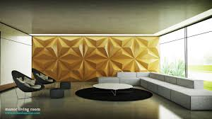 Black And Gold Living Room by Wall Decor Sweet Textured Wall Panels For Interior Design Ideas