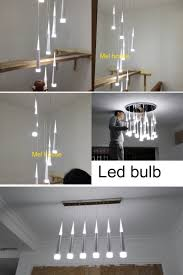 aliexpress buy led drop lights spiral chandelier