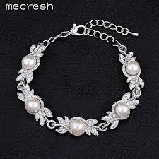 necklace earring bracelet set images Wedding necklace earrings bracelets sets simulated pearl bridal jpg