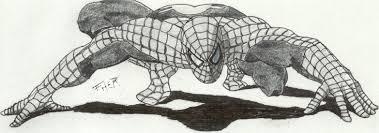 spiderman drawing fher68 deviantart