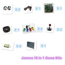 jamma gioco arcade kit con jamma 19 in 1 pwb alimentazione