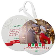 personalized hanging photo ornament cards banner