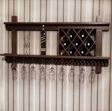 online shop grade wood wine racks wall mount wine glass rack