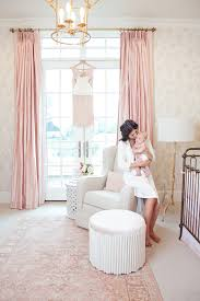 pink peonies nursery blog baby blessing peony and nursery