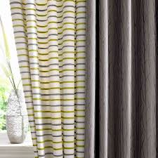 Grey And Green Curtains Wilde Serene Fabric Collection White Curtains With Lime