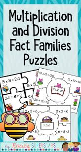 Fact Family Worksheets Best 25 Multiplication And Division Ideas Only On Pinterest