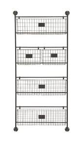 Metal Wall Shelving by Round Metal Walls Shelves S 3 Country Farmhouse Wire Mesh And
