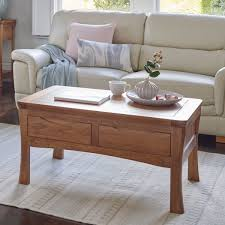 orrick coffee table in rustic solid oak oak furniture land