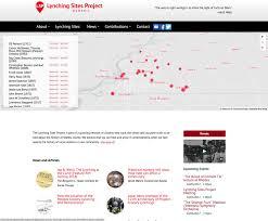 lynching sites project site stuart center