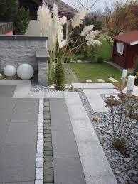 Gartengestaltung Mit Steinen Und Grsern Modern Bilder Gartengestaltung Modern Möbelideen