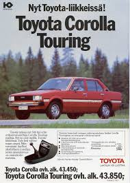 toyota club of finland corolla ke70 touring 1981