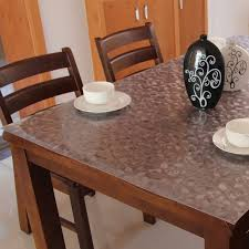 dining table cover clear disposable soft glass tablecloth high temperature resistance mat