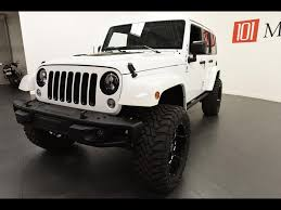 2016 jeep wrangler unlimited sahara 2016 jeep wrangler unlimited sahara 75th anniversary for sale in
