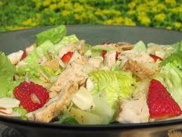 my version of panera u0027s strawberry poppy seed and chicken salad