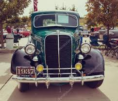 Vintage Ford Truck Images - green 1937 ford pickup truck classic car u2013 stock editorial photo