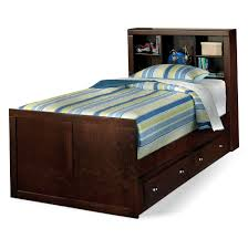 Bed With Headboard And Drawers Twin Bed Frame With Headboard And Drawers Home Design Ideas
