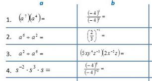 exponents rules worksheets pdf missing base or exponent college