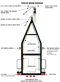 trailer wiring diagram the t one connectors and hardwire kits all