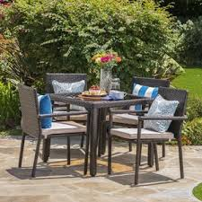 Square Patio Table Square Patio Dining Sets You U0027ll Love Wayfair