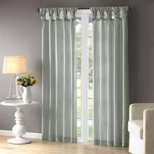 Half Door Curtain Panel 108 Inch 119 Inch Curtains U0026 Drapes You U0027ll Love Wayfair