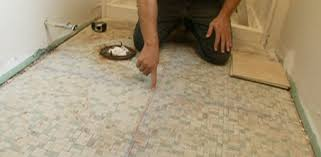 Floor Tiles For Bathroom How To Tile A Bathroom Floor Today S Homeowner