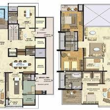 villa floor plans indian villa floor plans small house to large villas modern 3d plan