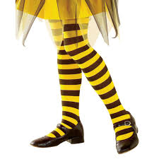bee tights black u0026 yellow kids accessory