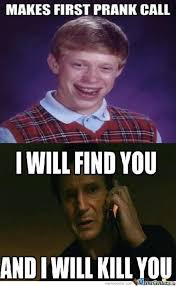 Funny Good Luck Memes - image 383436 bad luck brian know your meme