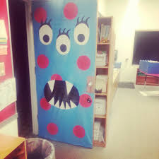 monsters inc halloween decorations monsters inc door decoration for halloween monster inc door