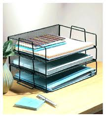 wire mesh desk organizer awesome staples all in one silver wire mesh desk organizer 27642
