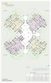 Garden Apartment Floor Plans Kolte Patil Pimple Nilakh 24k Glitterati 3 4 Bhk Flat Penthouse