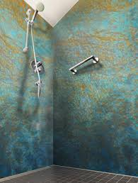 shower walls built from epoxy poured over panels bathroom shower walls built from epoxy poured over panels