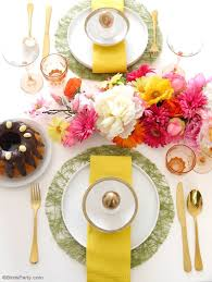 Easter Restaurant Decorations a modern floral easter brunch party ideas party printables