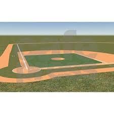 3 u0027x5 u0027 baseball field area rug by forgottenmemory
