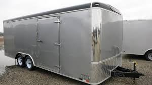 enclosed trailer led lights united trailers 8 5 x 20 ult enclosed trailer w r door