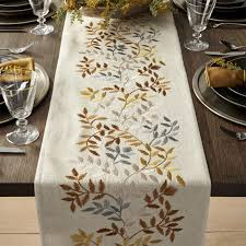 gold table runner and placemats aveline 90 silver and gold table runner fall table embroidery