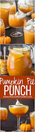 best thanksgiving cocktail pumpkin pie punch the cookie rookie