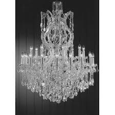 Swarovski Crystals Chandelier Crystorama Maria Theresa Collection 18 1 Light Crystal