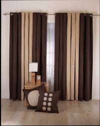 Neutral Curtains Decor Comely Modern Living Room Curtains Charming On Exterior Decorating