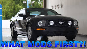 2006 mustang mods what mods should i do to my 2006 mustang gt