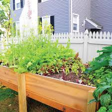 construct a raised garden bed family handyman