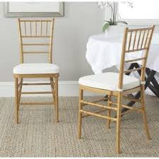 hollywood regency white faux bamboo dining room chairs