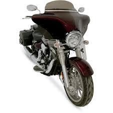 memphis shades fork deflectors mem5804 cruiser motorcycle