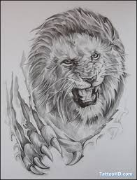 angry lion king tattoo design in 2017 real photo pictures
