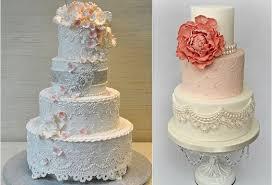wedding cake lace lace wedding cakes suspended lace edging cake magazine