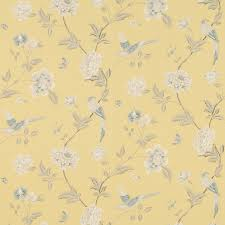 Washable Wallpaper For Kitchen Backsplash Elveden Camomile Wallpaper An Elegant Archive Print Depicting