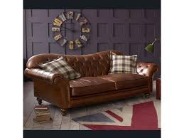 Chesterfield Sofa Los Angeles Vintage Chesterfield Leather Sofa Brightmind