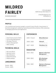 modern resumes 2017 customize 505 simple resume templates online canva